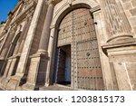 guadalajara cathedral ...   Shutterstock . vector #1203815173