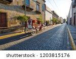 guadalajara streets in historic ...   Shutterstock . vector #1203815176