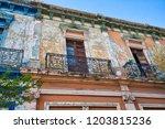 guadalajara streets in historic ...   Shutterstock . vector #1203815236