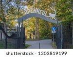 Entrance At The Apenheul Zoo At ...