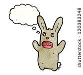 cartoon spooky rabbit | Shutterstock .eps vector #120383248