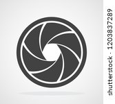 focus icon. vector illustration.... | Shutterstock .eps vector #1203837289