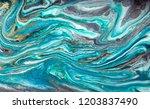 gold marbling texture design.... | Shutterstock . vector #1203837490