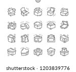 box well crafted pixel perfect... | Shutterstock .eps vector #1203839776