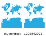 map   departments of continents ...   Shutterstock .eps vector #1203842023