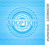 adoption sky blue water wave... | Shutterstock .eps vector #1203860230