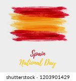 spain national day background.... | Shutterstock .eps vector #1203901429