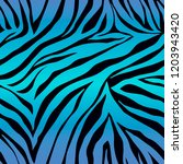 vector animal print. zebra... | Shutterstock .eps vector #1203943420