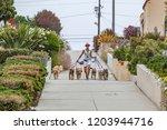 los angeles  usa   june 28 ...   Shutterstock . vector #1203944716