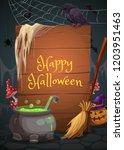 Halloween Holiday  Vector...
