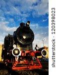 Historic Steam Locomotive...