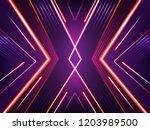vector abstract neon background....   Shutterstock .eps vector #1203989500