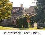 the ruins of a medieval hammam  ...   Shutterstock . vector #1204015936