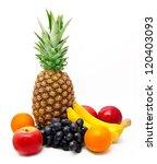 assortment of exotic fruits... | Shutterstock . vector #120403093