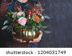Autumn Floral Bouquet In...