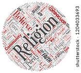 vector conceptual religion  god ... | Shutterstock .eps vector #1204033693