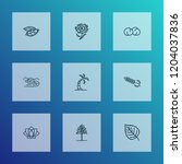 harmony icons line style set...   Shutterstock . vector #1204037836