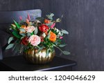 Autumn Floral Bouquet In...