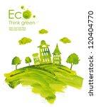 illustration environmentally... | Shutterstock . vector #120404770