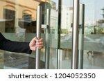 Faceless Shot Of Hotel Worker...