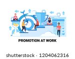 steps to success career growth... | Shutterstock .eps vector #1204062316