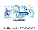 man woman couple holding... | Shutterstock .eps vector #1204066639