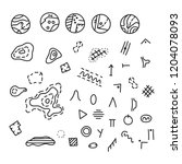 vector illustration of... | Shutterstock .eps vector #1204078093