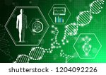 abstract background technology... | Shutterstock .eps vector #1204092226