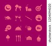 gourmet icon. gourmet vector...   Shutterstock .eps vector #1204094020