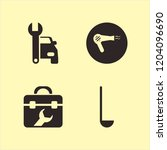 tool icon. tool vector icons... | Shutterstock .eps vector #1204096690