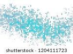 light blue vector texture with... | Shutterstock .eps vector #1204111723