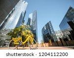morning view of la defense...   Shutterstock . vector #1204112200