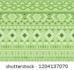 peruvian american indian... | Shutterstock .eps vector #1204137070