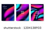 abstract gradient background | Shutterstock .eps vector #1204138933