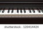 Digital Electric Piano Keys...