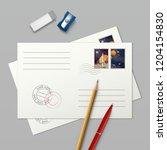 vector realistic illustration... | Shutterstock .eps vector #1204154830