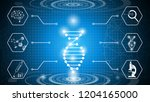 abstract background technology... | Shutterstock .eps vector #1204165000