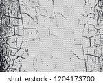 vector craquelure effect... | Shutterstock .eps vector #1204173700