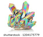 amazing colorful flashing... | Shutterstock . vector #1204175779