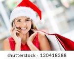 Christmas Female Shopper...
