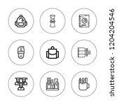 college icon set. collection of ...   Shutterstock .eps vector #1204204546