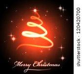 Glowing Christmas Tree Swirl...