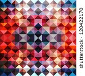 triangles background design... | Shutterstock . vector #120422170