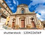caltagirone  italy   september... | Shutterstock . vector #1204226569