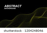 abstract background with... | Shutterstock .eps vector #1204248046