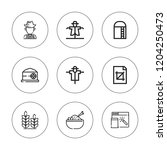 crop icon set. collection of 9...   Shutterstock .eps vector #1204250473