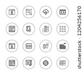 browser icon set. collection of ... | Shutterstock .eps vector #1204256170