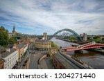 newcastle upon tyne  england ... | Shutterstock . vector #1204271440