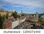 newcastle upon tyne  england ... | Shutterstock . vector #1204271443