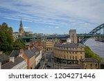 newcastle upon tyne  england ... | Shutterstock . vector #1204271446